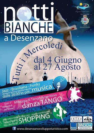 Cosa Fare questa sera? Notte Bianca a Desenzano sul Garda