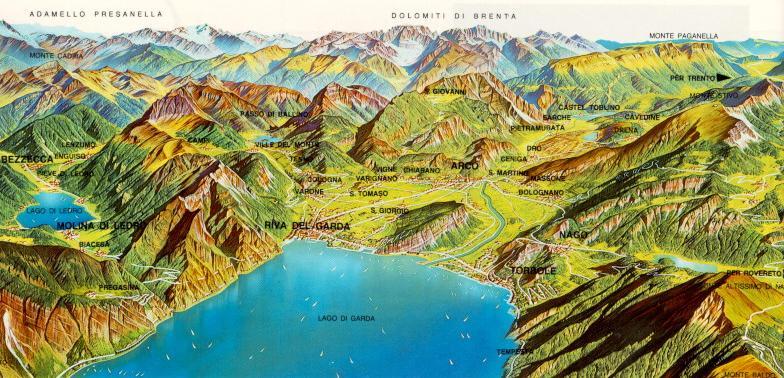 Altogarda, Bassosarca, Garda Trentino: tanti nomi per un territorio unico