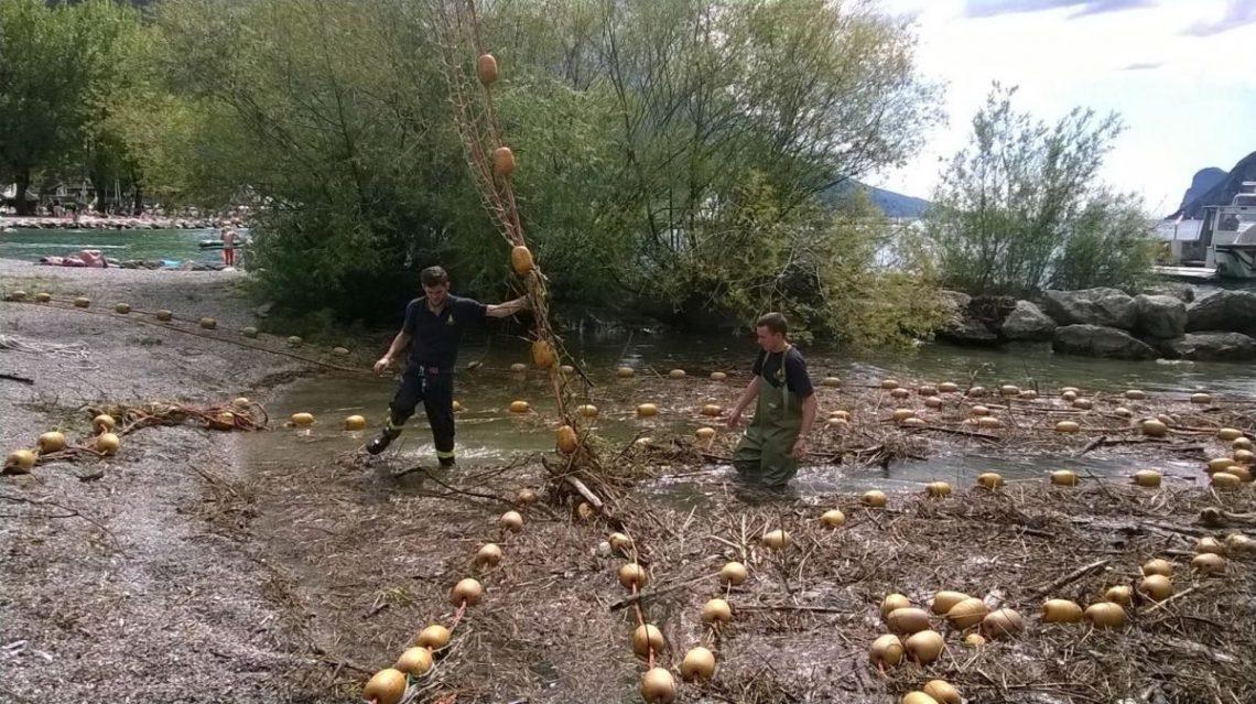 Un ringraziamento ai Vigili del Fuoco permanenti e volontari di Riva del Garda