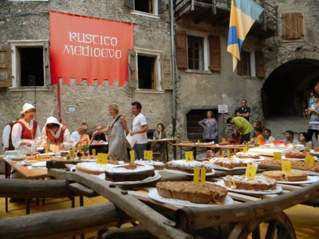 Rustico Medioevo a Canale di Tenno dal 4 al 12 agosto 2018