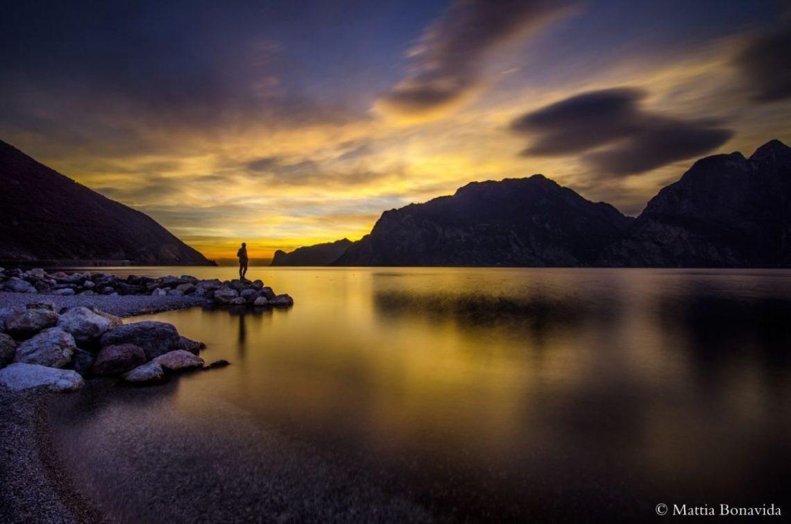 Alcuni scorci del lago di Garda.