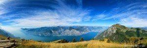 Panoramica monte Baldo.