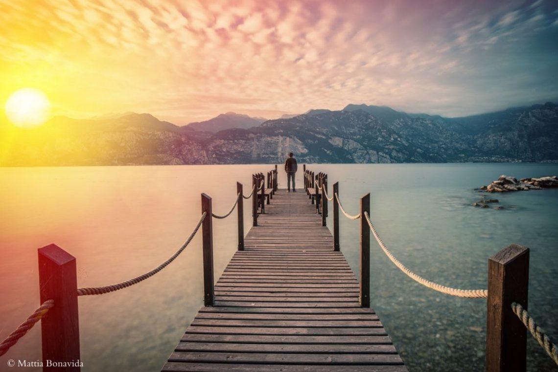 Da nord a sud, piccoli scorci del Lago di Garda.