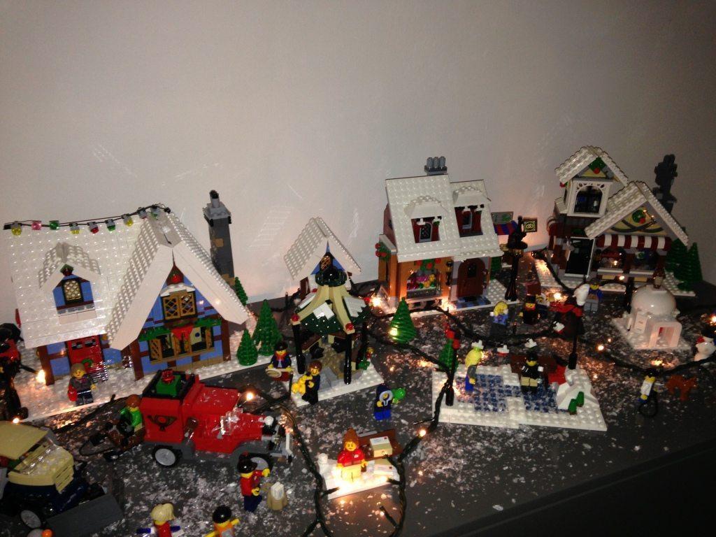 Salò: Il Natale fatto con i mattoncini Lego