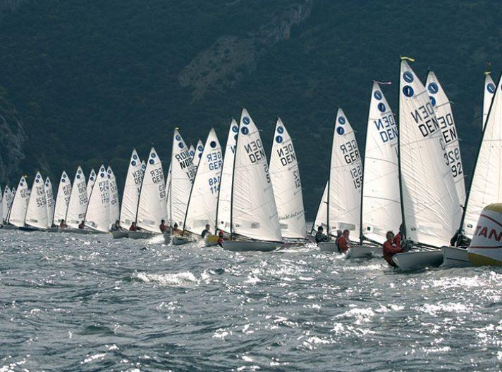 Torbole sul Garda: Regate veliche al Circolo Vela Torbole