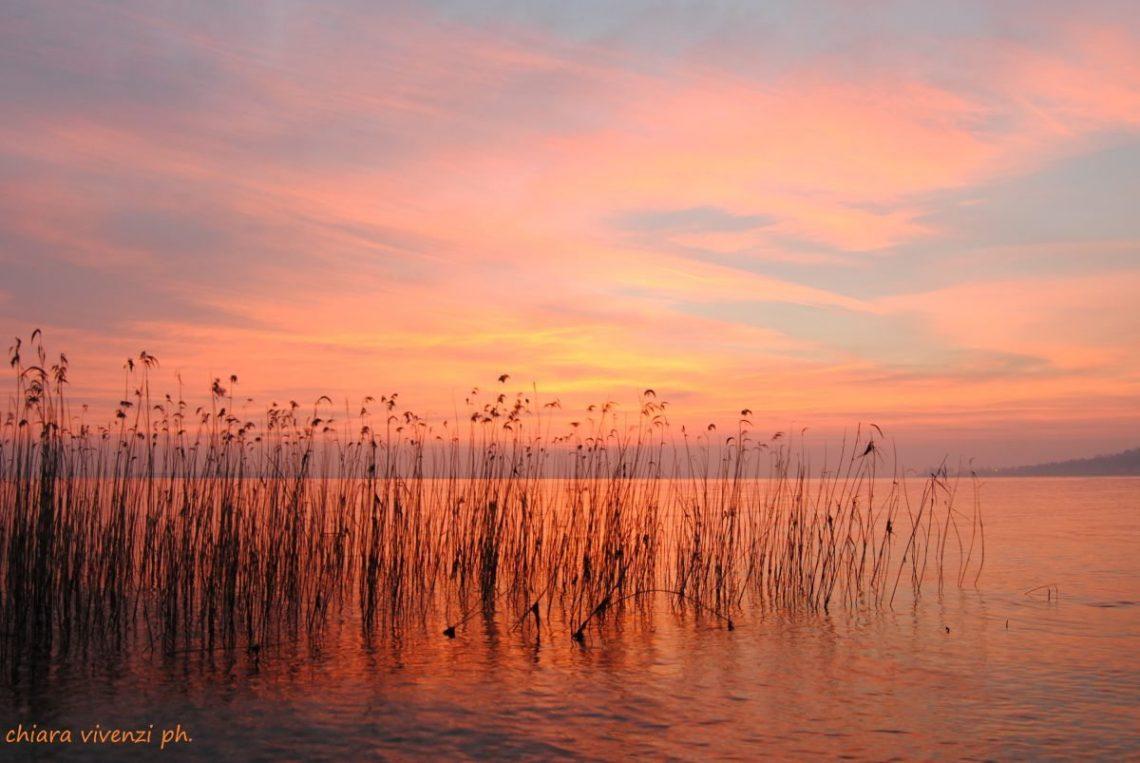 le meraviglie del mattino sul lago di Garda