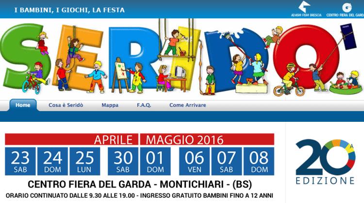 Seridò 2017: La fiera a Montichiari dedicata ai bambini