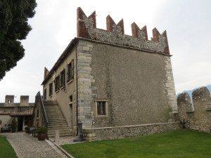 Malcesine: Castello, palazzina veneziana