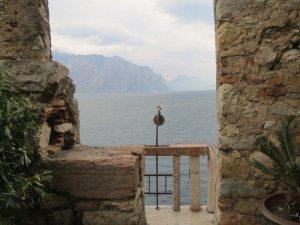 Malcesine: panorama dal castello