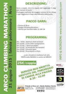 programma arco climbing marathon