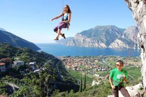 arrampicata sul lago di Garda