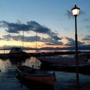 Tramonto sul Lago di Garda