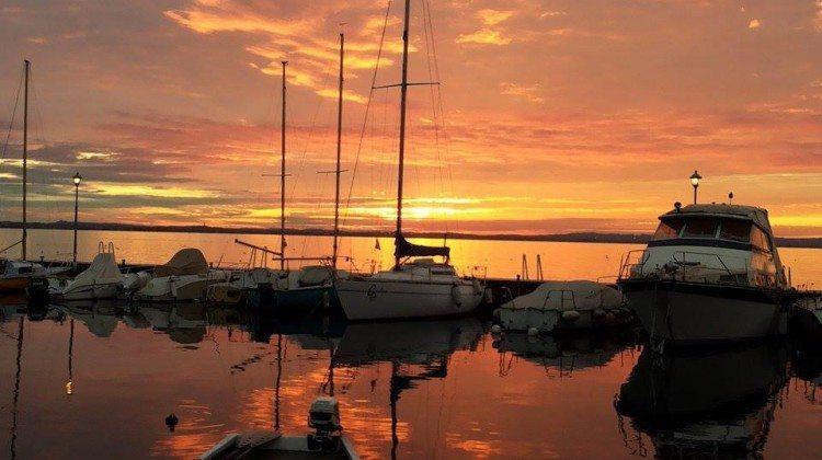 le varie forme del Tramonto sul Lago di Garda di Lisa77n da Instagram