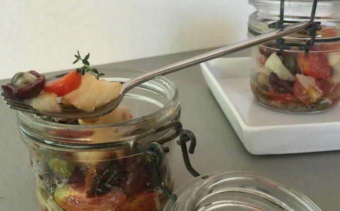 San Pietro con pomodorini, olive e capperi cucinato con Fresco Il 'mio' alleato in cucina!