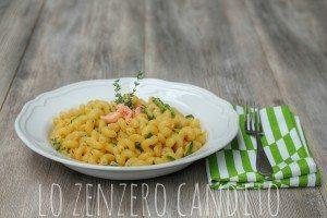 pasta trota salmonata e zucchine1