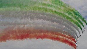 Balla Ele Frecce Tricolore a Peschiera