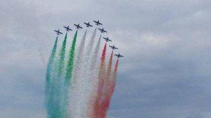 Luca Morandini Frecce Tricolore a Peschiera