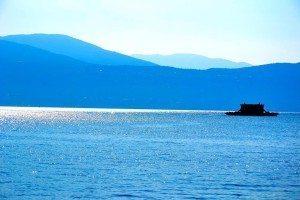 Mario Quecchia Azzurro Lago