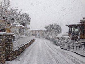 Isacco Pace 23 Novembre la prima neve a Tignale