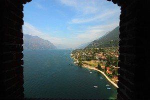 Claudio Cavazzuti Il Lago da Malcesine