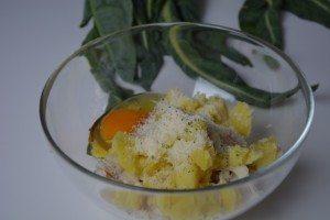 Polpette di merluzzo con salsa di broccolo di Torbole