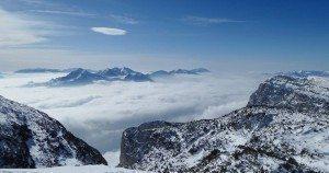 Franco Chesini Sotto le nuvole il Lago