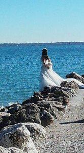Lidia Dasola La sposa a Sirmione