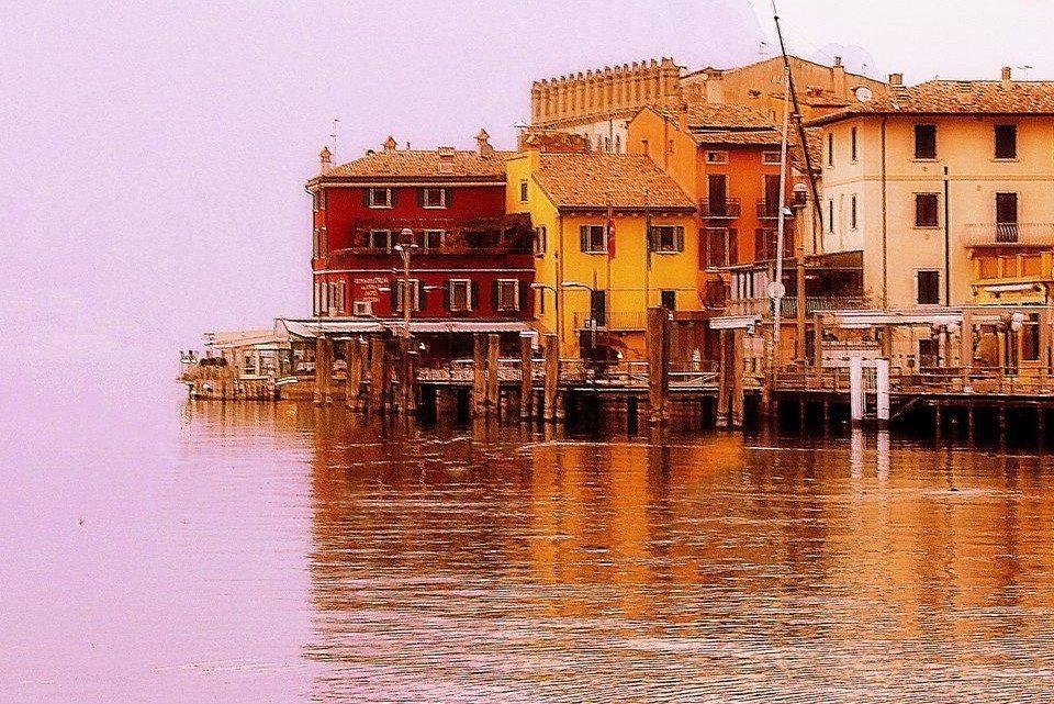 Le fotografie del Lago di Garda nel mese di Marzo