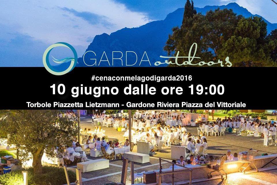 Cena con me Lago di Garda 10 giugno 2016
