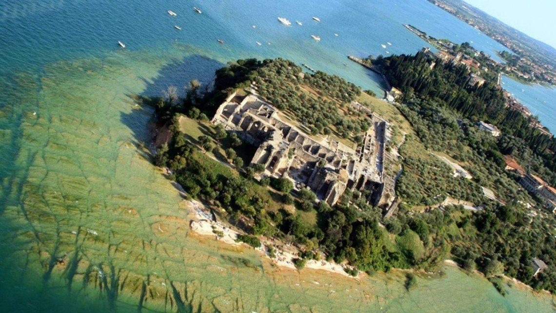 Le ville romane sul lago di Garda