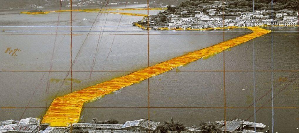 Christo ci farà camminare sull'acqua - The Floating Piers  18 giugno – 3 luglio 2016