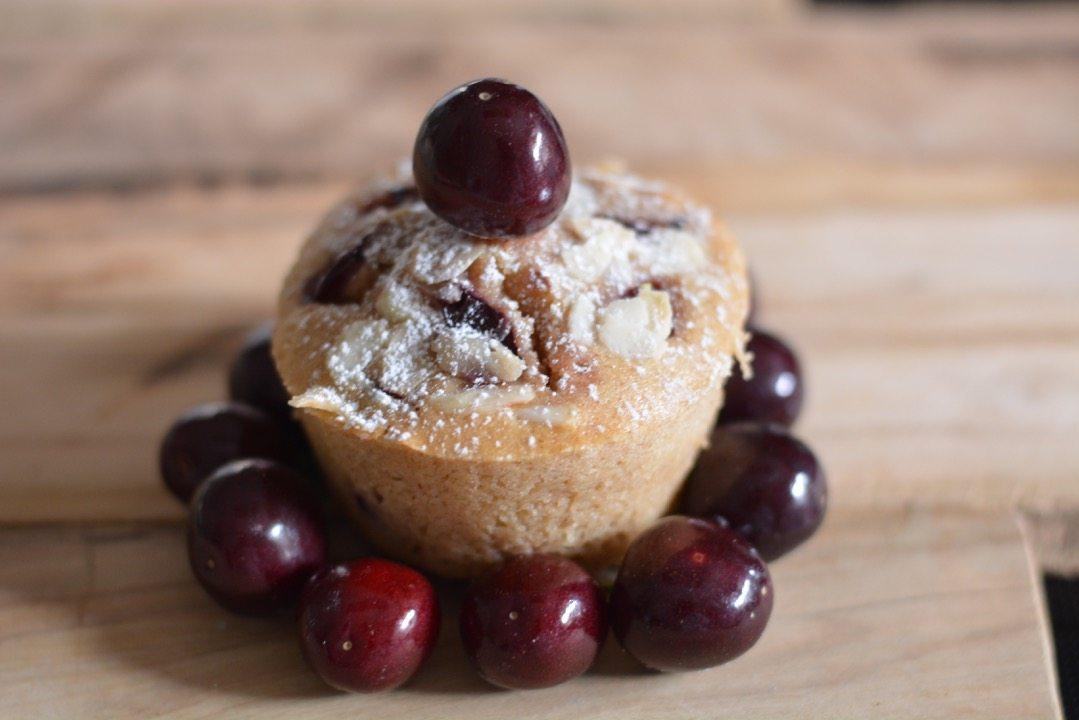ricetta muffin alla ciliegia