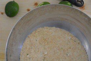 Rotolo al profumo di lime senza cottura