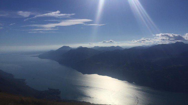 In Agosto sul Lago di Garda