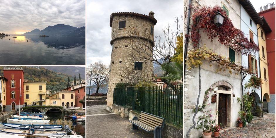 Cassone di Malcesine, borgo incantato tra ulivi, ciclamini, pesca e arte