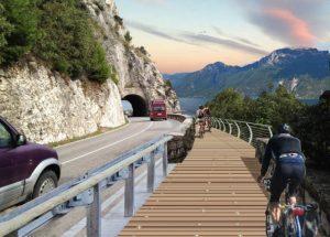 """""""Garda by bike"""": il giro del lago in bici diventerà realtà"""
