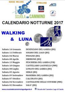 Walking & Luna con la Scuola del Cammino