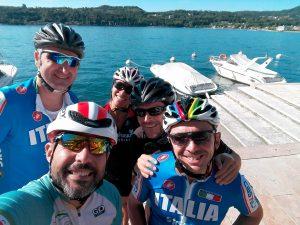 Un'escursione in bici sul Garda