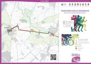 """La """"Ciclovia delle Risorgive"""" dal Mincio al Fiume Adige in Bicicletta"""