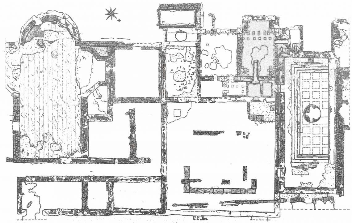 Le grotte di catullo una villa di origini romane situata for Disegni di ville