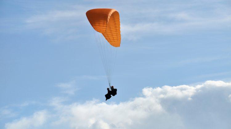 Parapendio in valle di Ledro: sulle ali della libertà