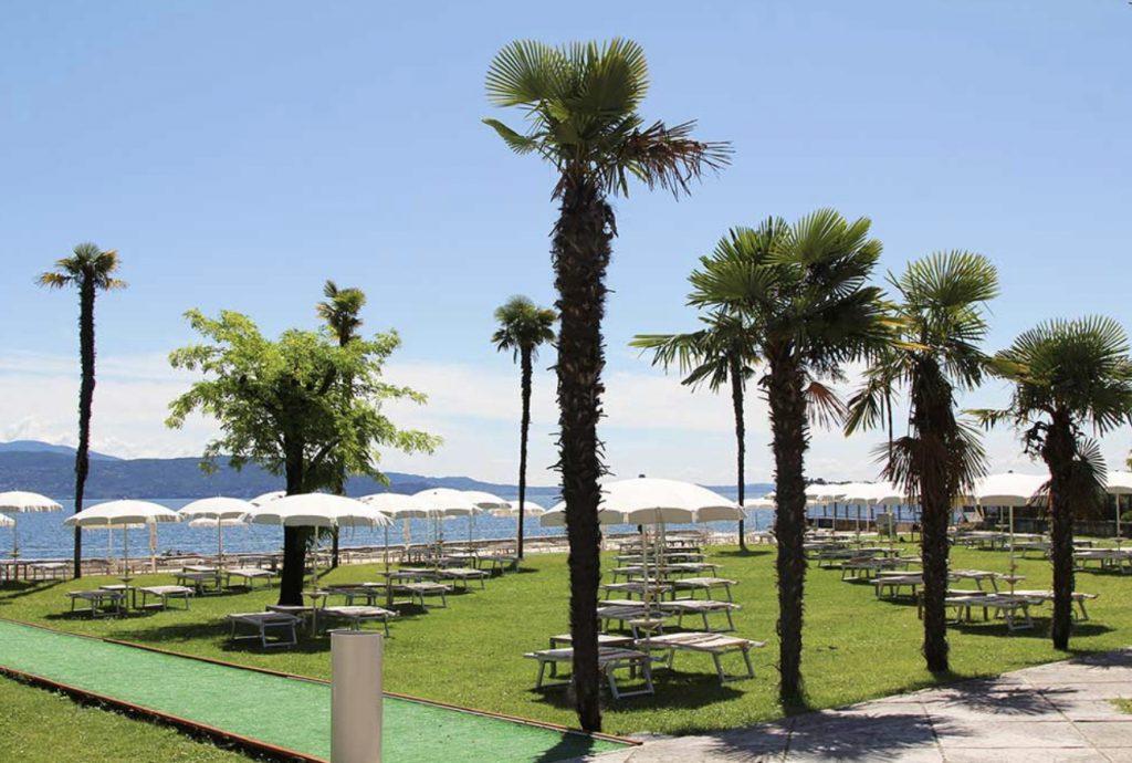 Le più belle spiagge attrezzate del Lago di Garda - Edizione 2021.