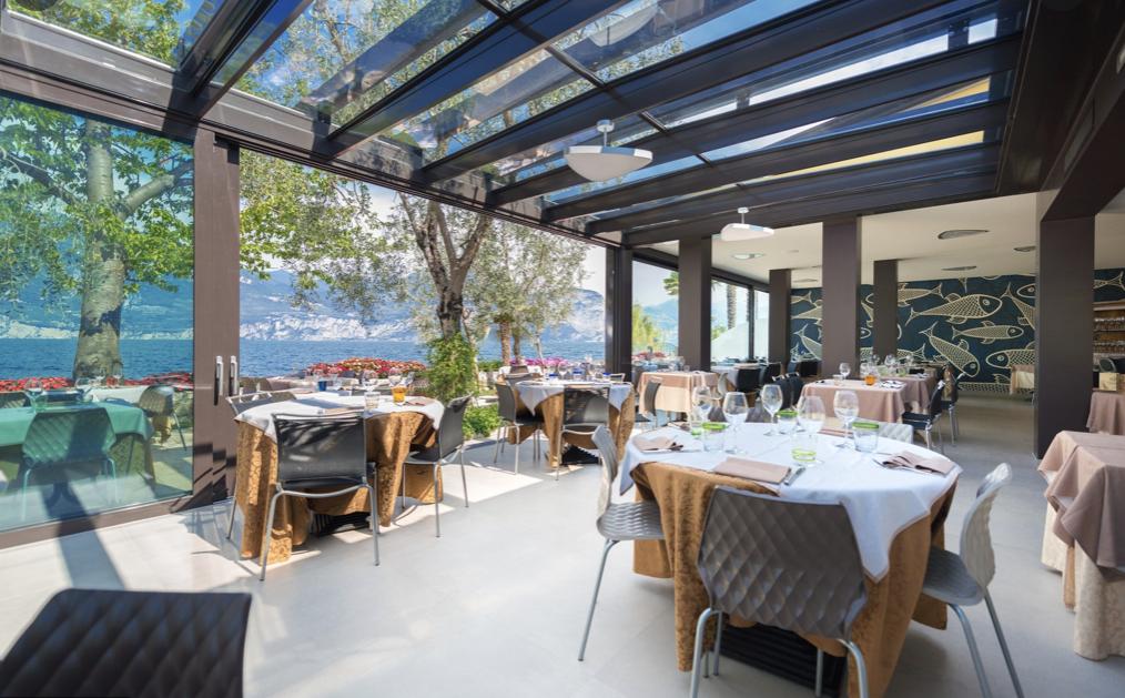 I migliori ristoranti di pesce di lago del Lago di Garda.