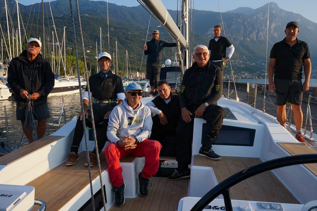 La regata velica più importante del Lago di Garda: la Centomiglia.