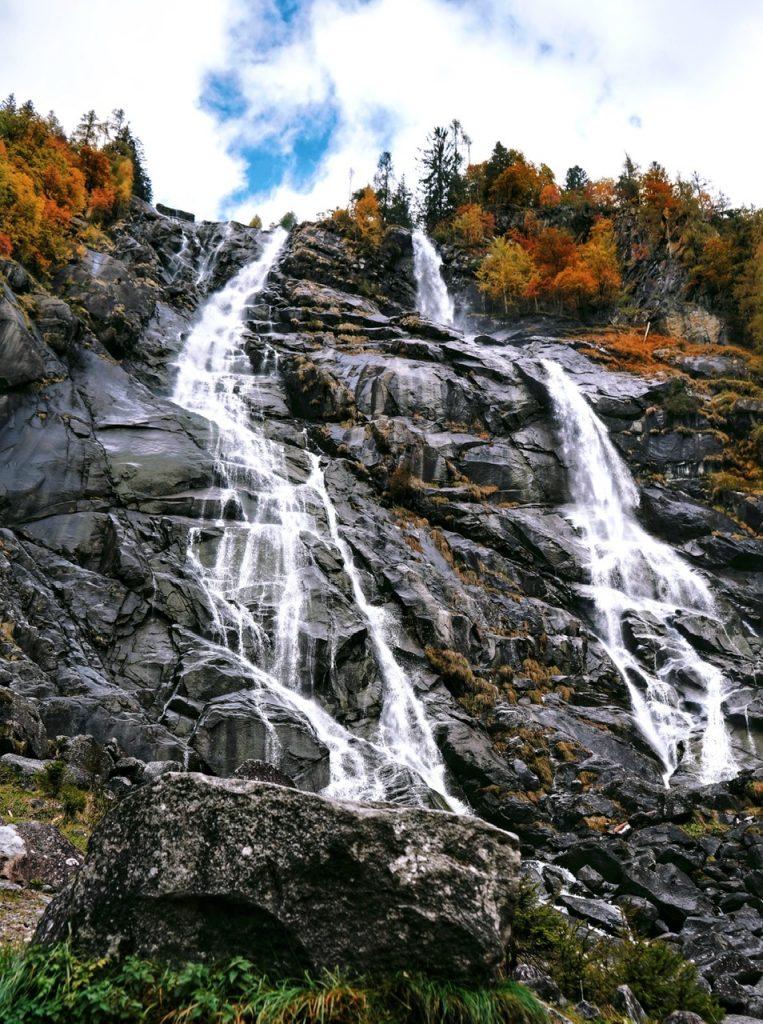 Le cascate a nord del Lago di Garda: cascata del Varone e cascate Nardis.