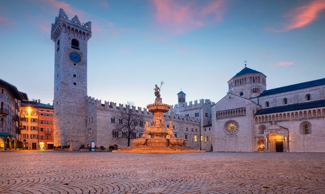Trento: cosa vedere nella città più a nord del Lago di Garda.