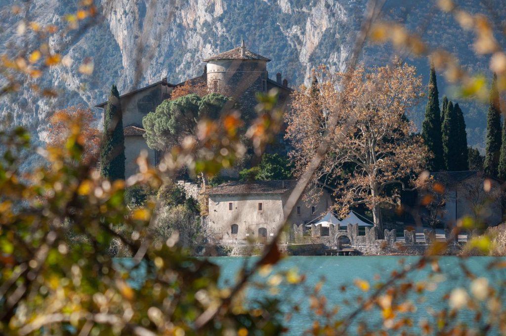 Il Lago di Toblino e Castel Toblino.