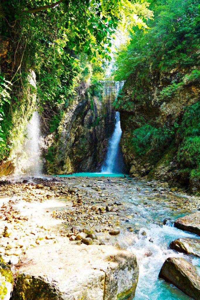 """Le cascate """"nascoste"""" del Lago di Garda."""