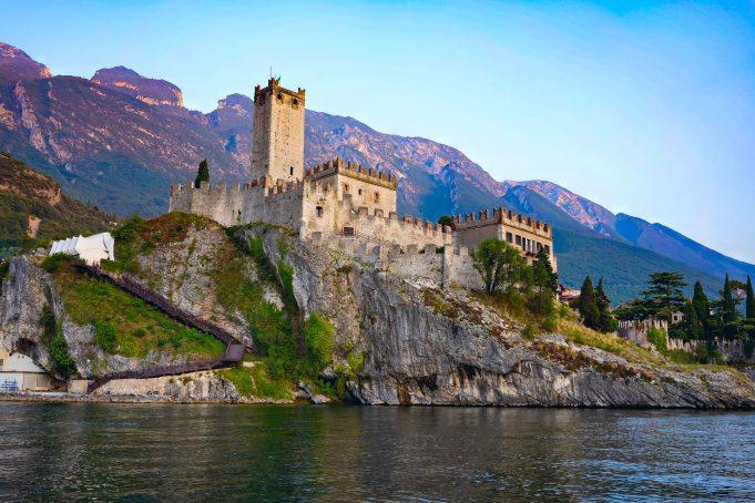 I Castelli del Lago di Garda: Castello Scaligero di Malcesine.