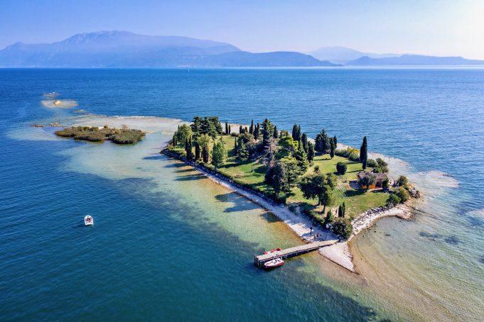 Isola di San Biagio - Manerba del Garda.